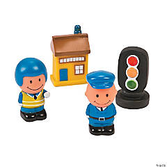 Police Station Play Set Characters