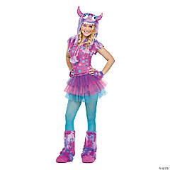 Polka Dot Monster Costume for Teen Girls