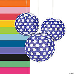 Polka Dot Paper Lanterns