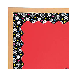 Polka Dot Party Wave Bulletin Board Borders