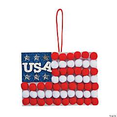 Pom-Pom Flag Sign Craft Kit