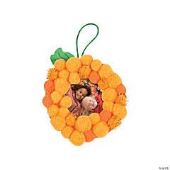 Pom-Pom Pumpkin Picture Frame Ornament Craft Kit