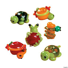 Pond Critters Lampwork Beads - 8mm-18mm