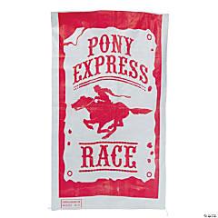 Pony Express Race Potato Sack