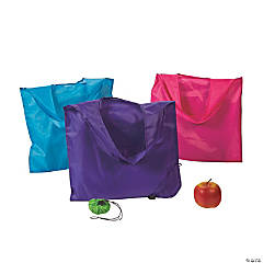 Pop-Out Shopping Tote Bags