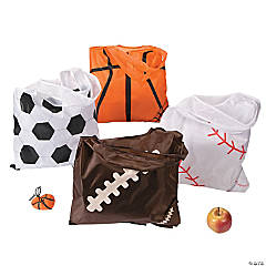 Pop Out Sport Ball Tote Bags