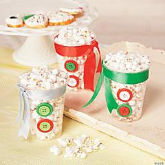 Popcorn Snowman Recipe