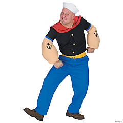 Popeye Adult Men's Costume