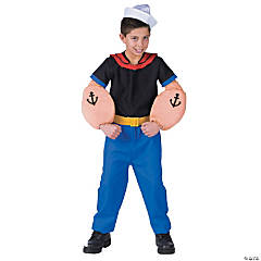 Popeye Boy's Costume