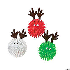 Porcupine Balls with Antlers