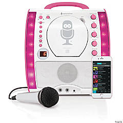 Portable Plug-n-Play Karaoke System with Wired Microphone