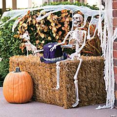 Posable Skeleton Halloween Décor