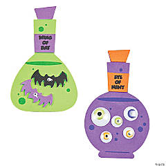 Potion Bottle Magnet Craft Kit