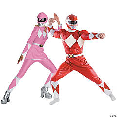 Power Ranger Couples Costumes