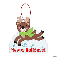 Prancing Reindeer Sign Craft Kit