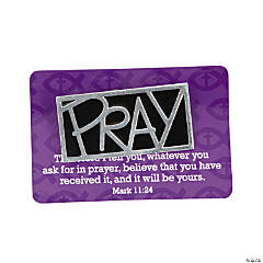 Pray Pins with Card