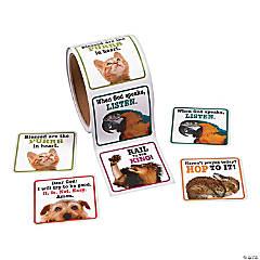 Praying Animal Stickers