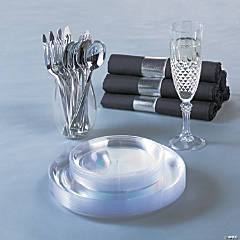 Premium Clear Tableware Collection