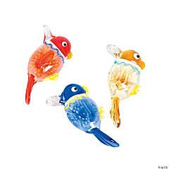 Premium Glass Parrot Pendant