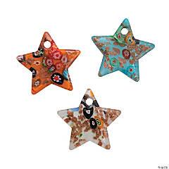 Premium Glass Star Pendants