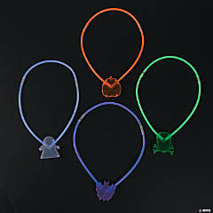 Premium Glow Halloween Character Necklace Assortment