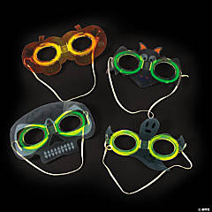 Premium Glow Halloween Mask Assortment