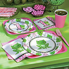 Preppy Frog Pink Basic Party Pack
