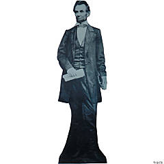 President Abraham Lincoln Cardboard Stand-Up