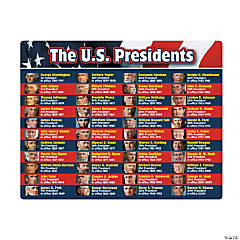 Presidential Learning Place Mats