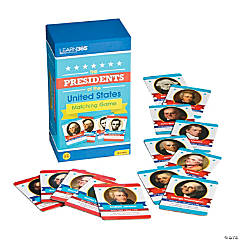 Presidents Matching Educational Game
