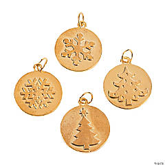 Pressed Christmas Charms