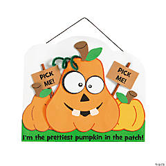 Prettiest Pumpkin Sign Craft Kit