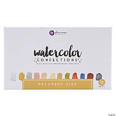 Prima Watercolor Confections Watercolor Pans 12/Pkg-Decadent Pies
