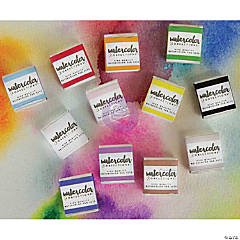 Prima Watercolor Confections Watercolor Pans 12/Pkg-The Classics