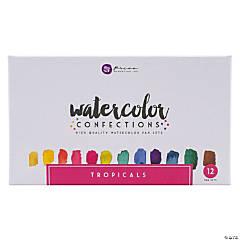 Prima Watercolor Confections Watercolor Pans 12/Pkg-Tropicals