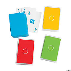 Primary Color Playing Cards