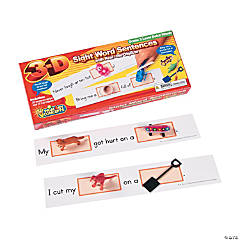 Primary Concepts™ 3-D Sight Word Sentences Grade 3 Dolch Words