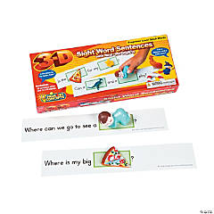Primary Concepts™ 3-D Sight Word Sentences Preprimer Dolch Words