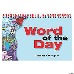 Primary Concepts Word Of The Day Flip Chart