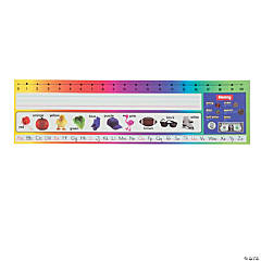 Primary Desk Plates with Number Line