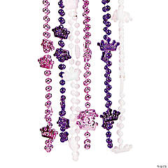 Princess Crown Beaded Necklaces