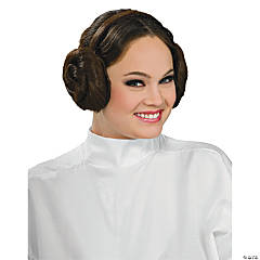 Princess Leia Buns Star Wars Wig