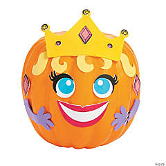 Princess Pumpkin Decorating Craft Kit