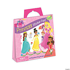 Princess Reusable Sticker Tote