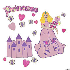 Princess Window Clings