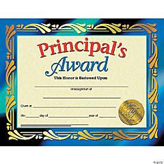 Principal's Award Certificate, 30 per Pack, 6 Packs