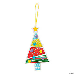 Print & Pattern Tree Ornament Craft Kit