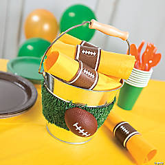 Printable Football Napkin Rings Decor Idea