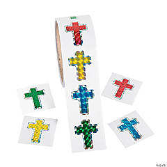 Prism Cross Stickers