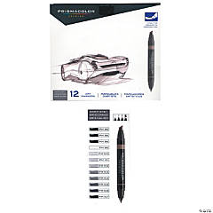 Prismacolor Warm Gray Marker Set of 12
